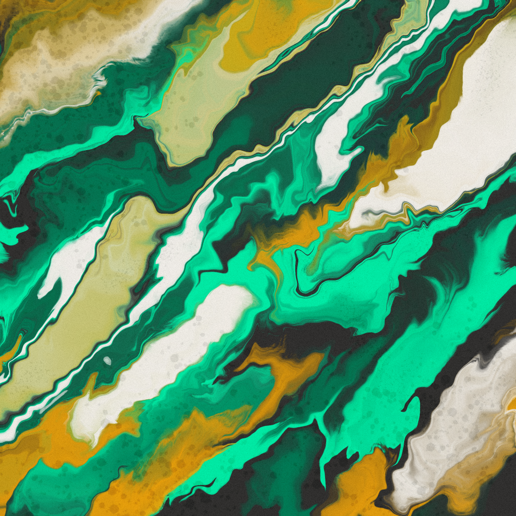 artwork from rich armstrong skillshare ipad marbling course